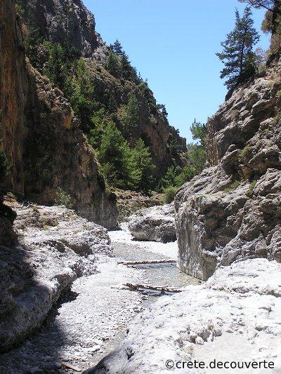 Carte Crete Gorges De Samaria.Samaria Crete Randonnee Rando Gorges De Samaria