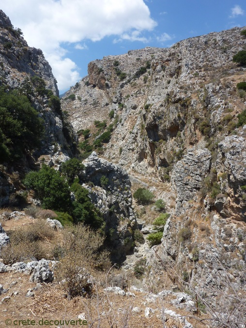 Gorge d'Agios Haralambos - Asites