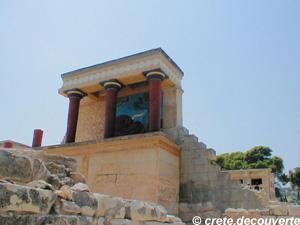 Knosos (Cnossos) à la période minoenne - reconstitution